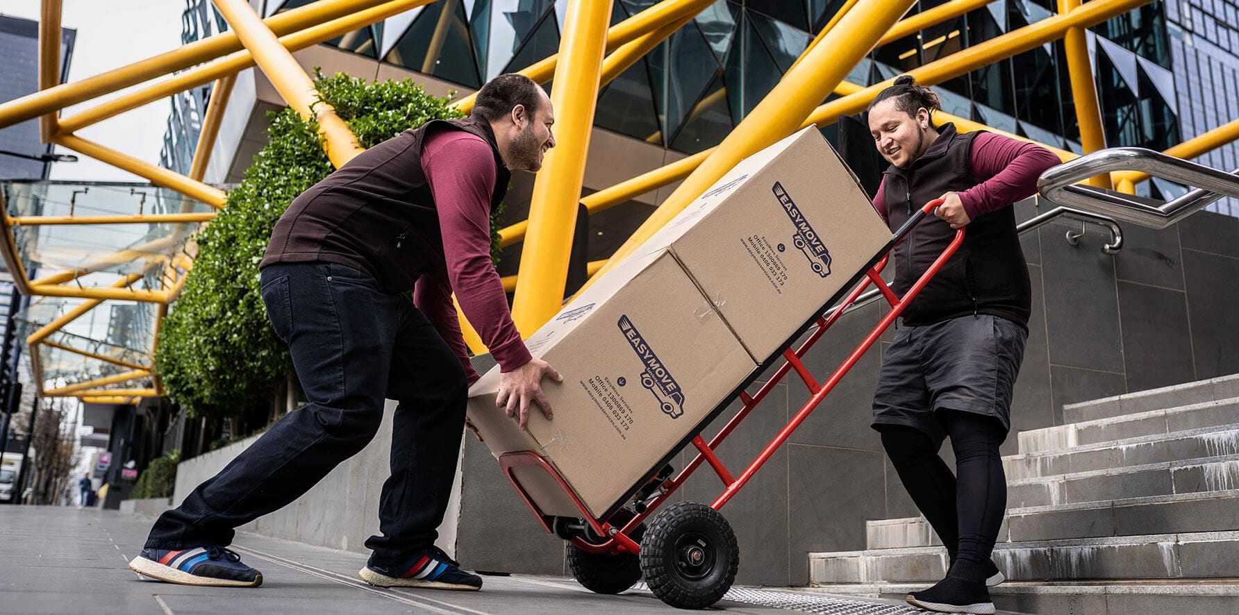 Removalists in East Melbourne